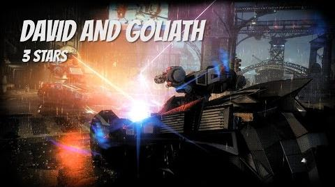 """David and Goliath"" 3 STARS Arkham Knight AR Challenge"
