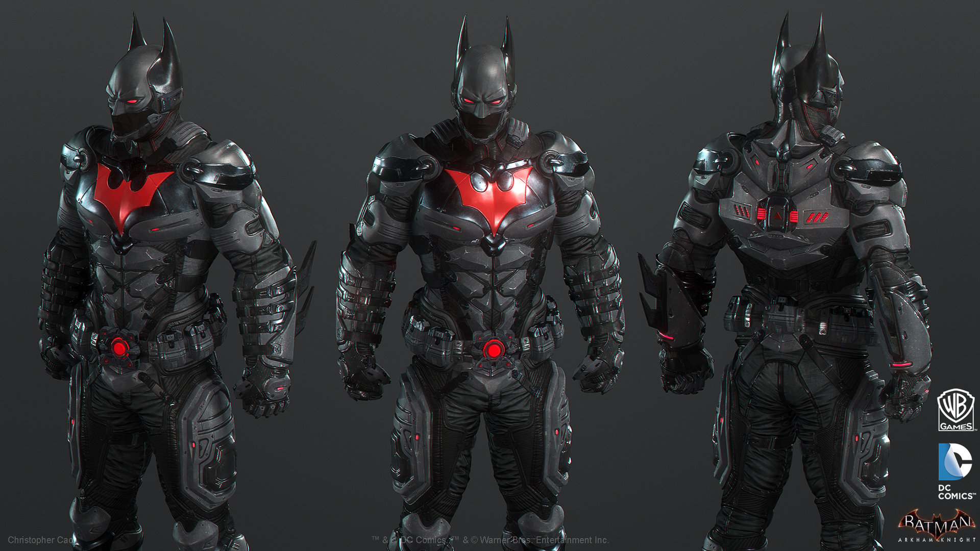 Image batman beyond turn around colour 2g arkham wiki batman beyond turn around colour 2g voltagebd Images