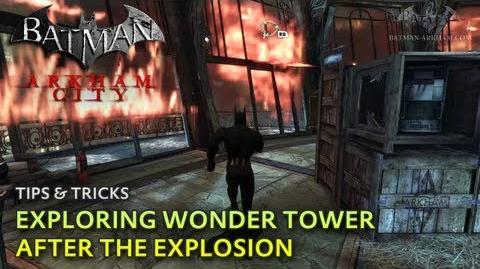 Batman- Arkham City - Tips & Tricks - Exploring Wonder Tower after the Explosion
