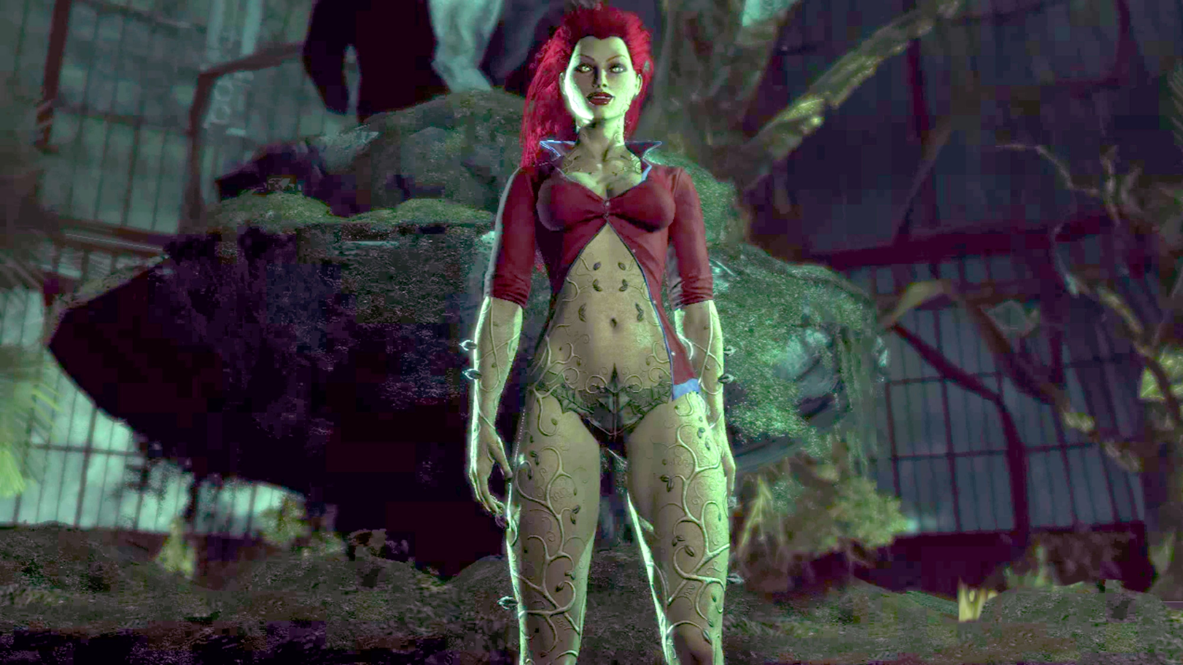 Poison Ivy Arkham Wiki Fandom