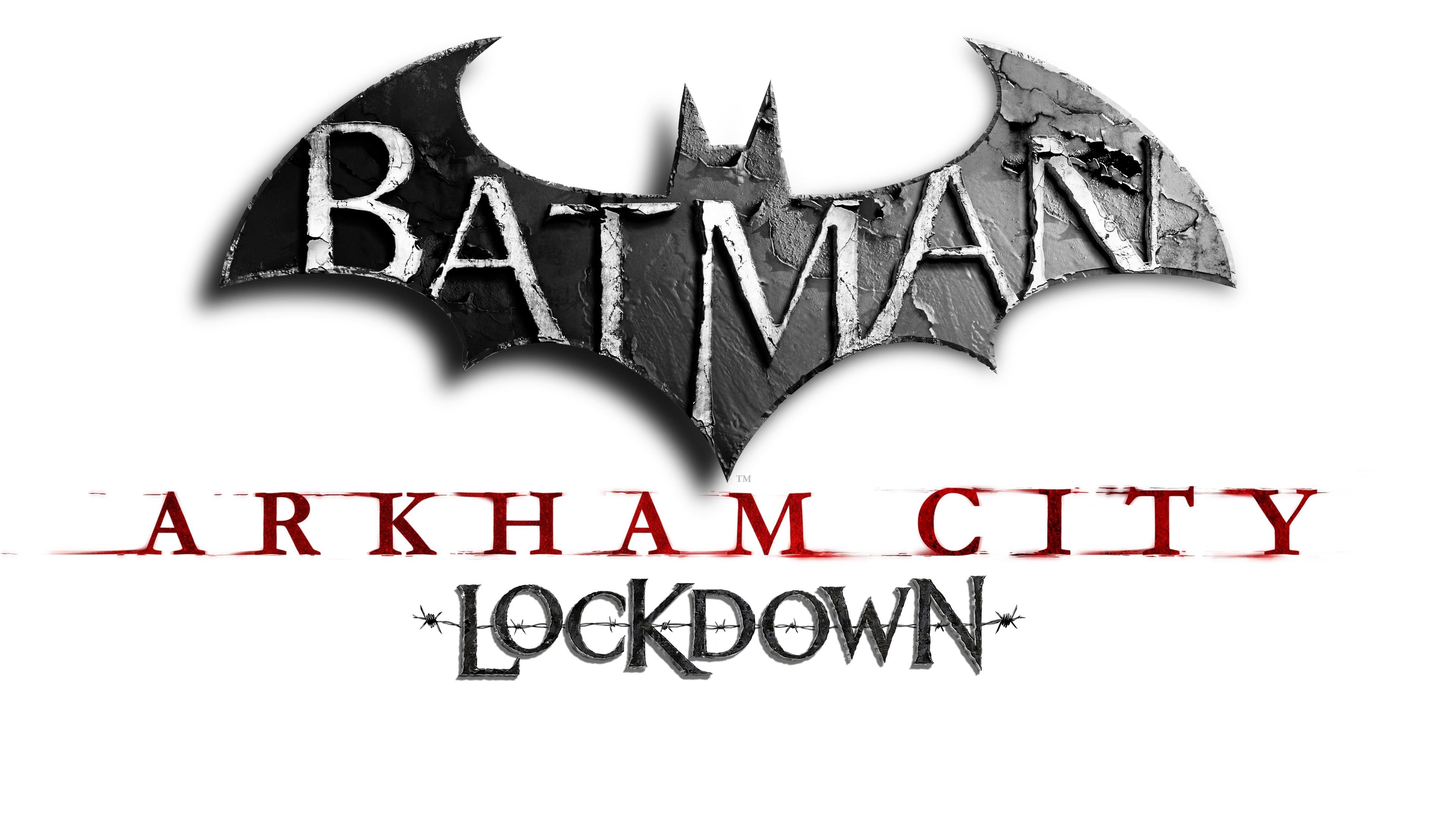 Batman Arkham City Lockdown Logo Ultimatecompromise Psd Jpgcopy