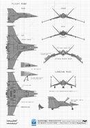 Batman Arkham Origins Concept Art MH batwing master blueprints