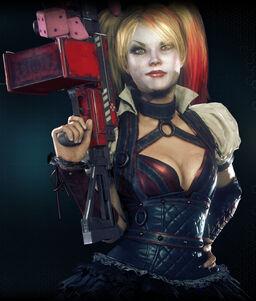 Arkham Knight Harley Quinn profile