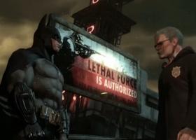 Gordon and batman