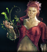 Arkham Knight Poison Ivy profile
