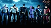 The Bat-family-skin pack