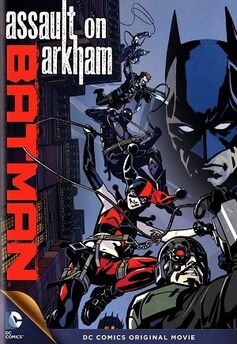 'Batman Assault on Arkham' cover