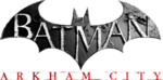 Batman arkham city logo render