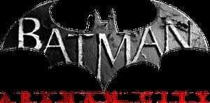 Batman arkham city logo render