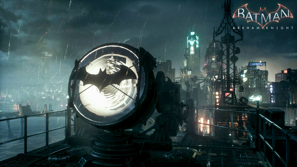 Batman Arkham Knight Wallpaper Bat Signal By Minionmask D913vbk