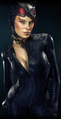 Arkham Knight Catwoman profile