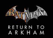 Batman Return to Arkham (2016) Official Title Logo