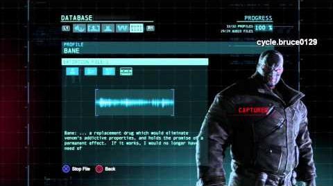 Extortion File- Bane