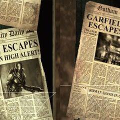Notícias sobre o Vagalume em <i>Arkham Asylum</i>.