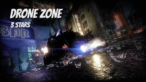 """Drone Zone"" 3 STARS Arkham Knight AR Challenge"