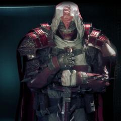 Azrael em <i>Arkham Knight</i>.