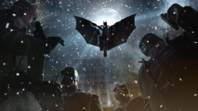 Batman Flying Arkham Or