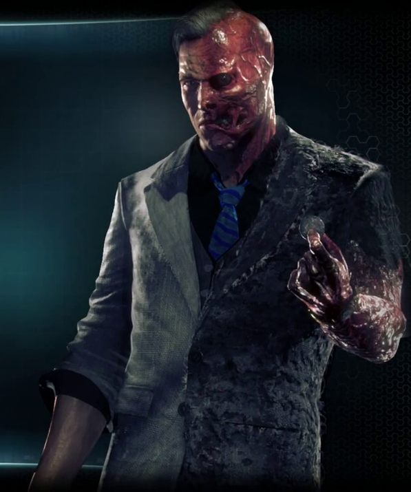 Arkham assylum white male