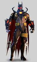 Knightfall costume