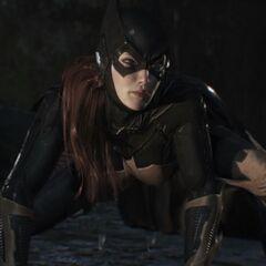 Batgirl em <i>Uma Questão de Família</i>.
