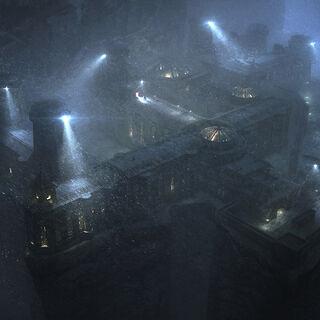 Blackgate, umas das prisões de Gotham.