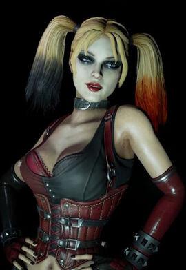 Бэтмен аркхем сити харли квин секс