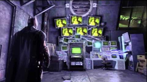 Batman Arkham Origins Riddler Hideout Intro