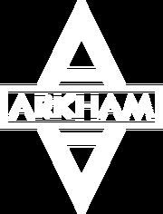 Arkham asylum logowhite