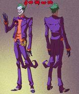 Joker colored turn