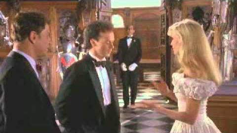 Batman 1989 Alexander Knox and Vicki Vale in the armory