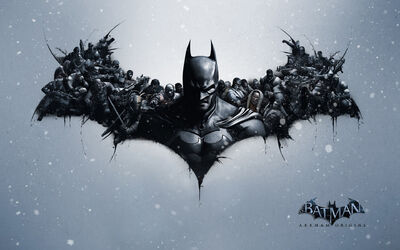 Batman arkham origins video game-wide