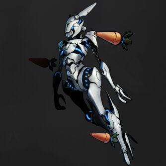 Robot bunnie by raodono-d4pnraz