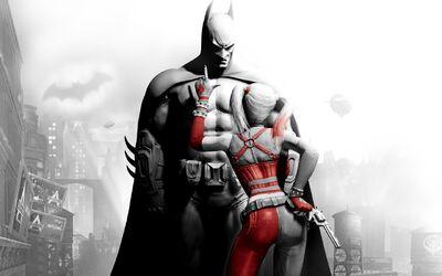 Batman and harley quinn-1280x800