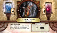 Akachi Onyele ~ Elder Sign - Gates of Arkham