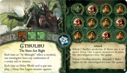 Cthulhu ~ Elder Sign - Omens of the Deep