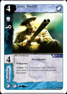 Local Sheriff CS-3