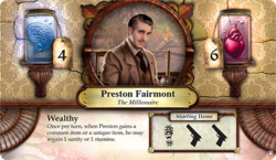 Preston Fairmont ~ Elder Sign - Omens of the Pharaoh