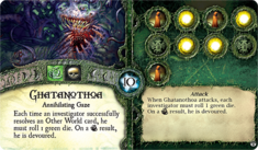 Ghatanothoa ~ Elder Sign - Gates of Arkham