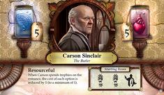 Carson Sinclair ~ Elder Sign - Omens of the Pharaoh