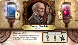 Carson Sinclair ~ Elder Sign - Omens of the Pharaoh