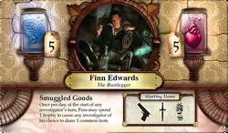 Finn Edwards ~ Elder Sign - Gates of Arkham