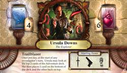 Ursula Downs ~ Elder Sign - Omens of Ice
