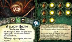 Atlach-Nacha ~ Elder Sign - Gates of Arkham