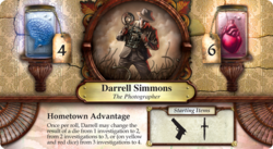 Darrell Simmons ~ Elder Sign - Core Set