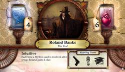 Roland Banks ~ Elder Sign - Omens of the Deep