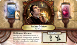 Father Mateo ~ Elder Sign - Omens of the Pharaoh