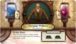 Norman Withers ~ Elder Sign - Gates of Arkham