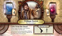William Yorick ~ Elder Sign - Gates of Arkham