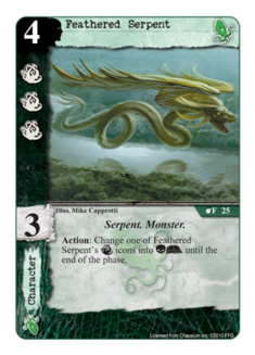 Feathered Serpent TYC-25