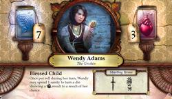 Wendy Adams ~ Elder Sign - Omens of Ice